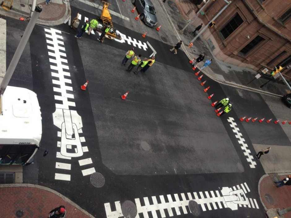 Reinventing Pedestrian Street Walkways: Artistic Crosswalks in Baltimore