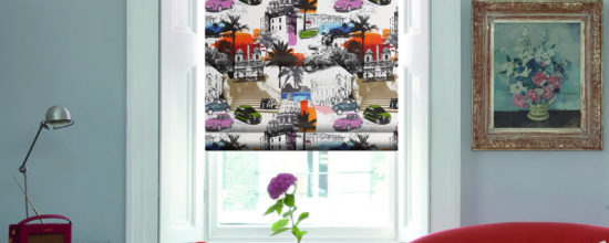Creative Interiors: Flamboyant Pop Art Roman by English Blinds