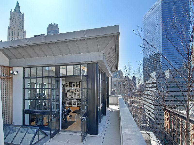 Five-Story Penthouse in Tribeca