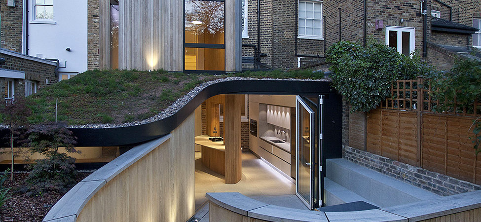 Victorian House in London at the Edge of Old and New