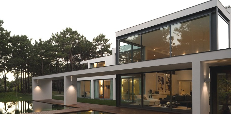 Exciting Residential Project Underlining Serenity: Casa Do Lago in Portugal