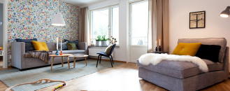 Scandinavian-Inspired Apartment Perfect for Starting a Family