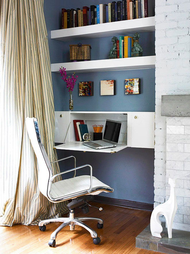 Collect This Idea Elegant Home Office Style (6)