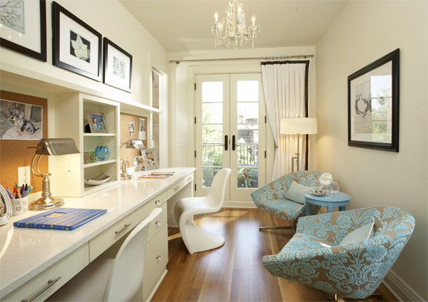 Collect This Idea Elegant Home Office Style (9)