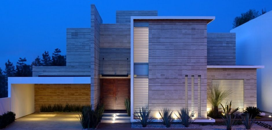 A Sequence of Straight Lines Defining a Dream Mexican Home