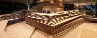 Multipurpose Creative Space in Tokyo by Kengo Kuma and Associates