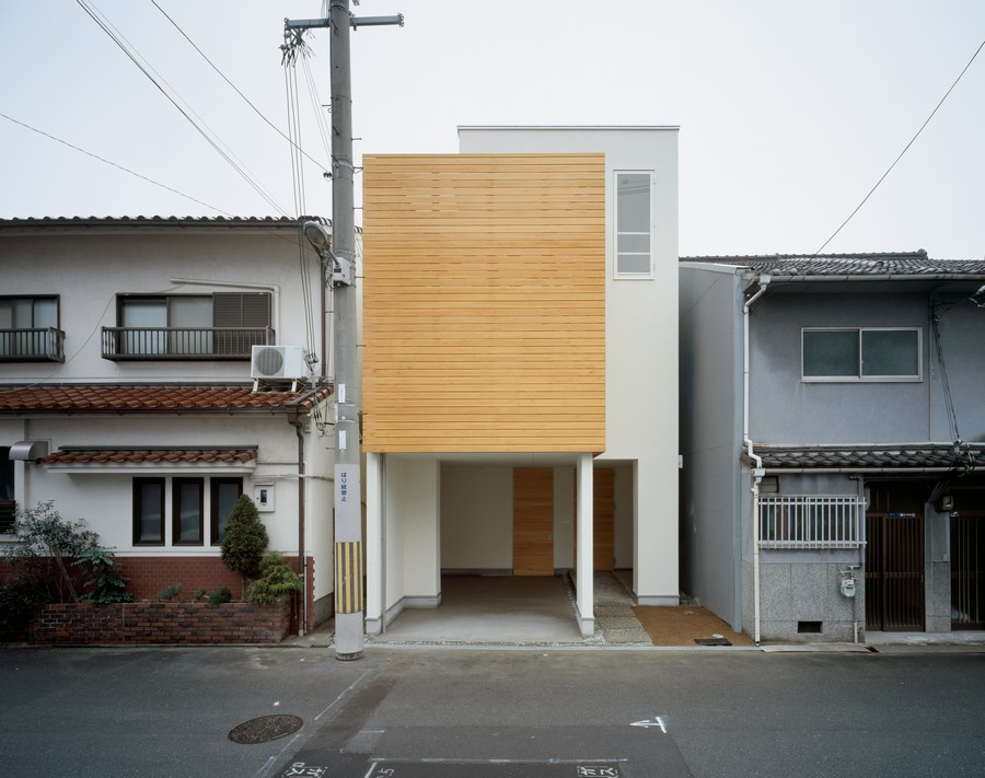 Minimalist Japanese Residence Making The Most Of A Narrow Site House F