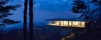 Mountain Ridge Hosting Dramatic Modern Architecture: House in Yatsugatake