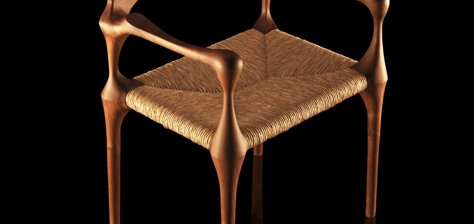 Elegant Chair Design Inspired by Organic Shapes from Paco Camús