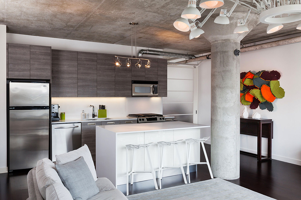 Industrial Design Elements Softened By An Appealing Mix Of Textures