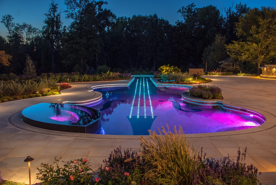 Dazzling Swimming Pool Replica Of An 18th Century Stradivarius - Best-swimming-pool-design