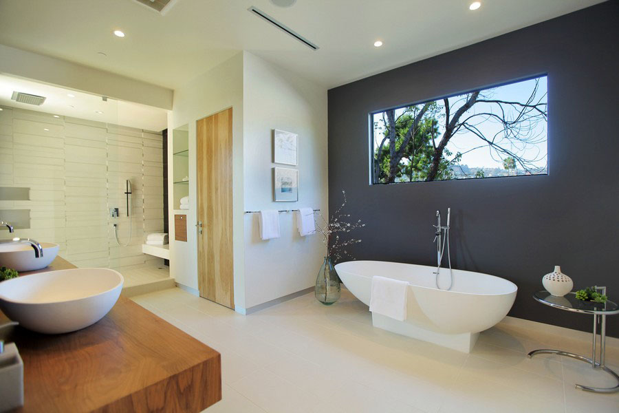 Modern Bathroom Layout