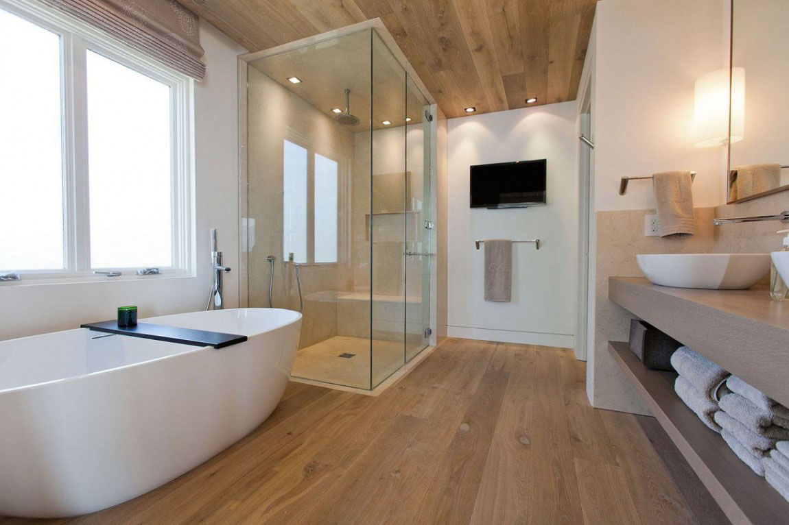 30 modern bathroom design ideas for your private heaven freshome com rh freshome com modern country bathroom interior design modern master bathroom interior design