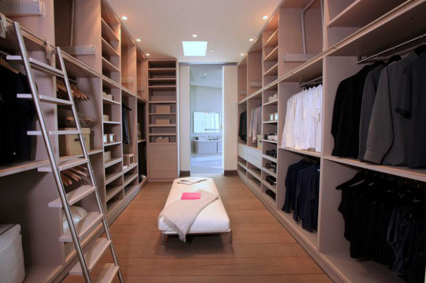 Walk-in Closet for Men - Masculine closet design (18)