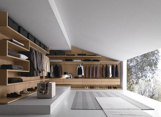 Walk-in Closet for Men - Masculine closet design (2)