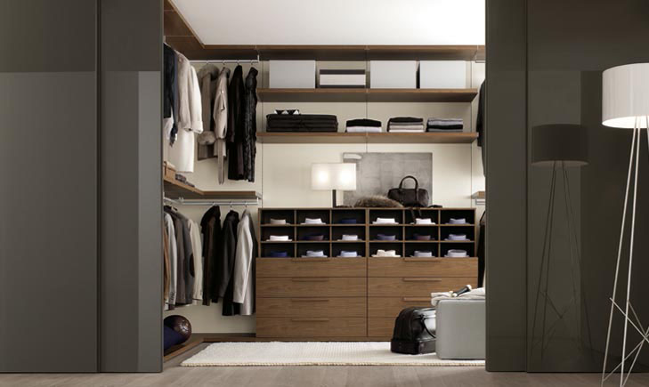 Walk-in Closet for Men - Masculine closet design (20)