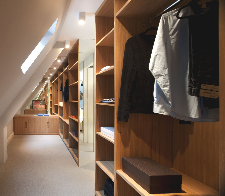 Walk-in Closet for Men - Masculine closet design (26)
