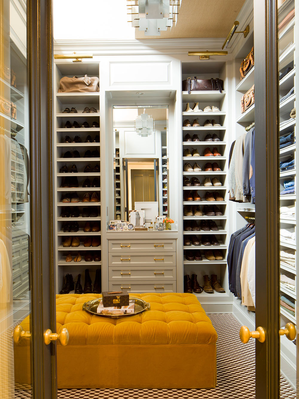 Collect this idea walk in closet for men masculine closet design 3