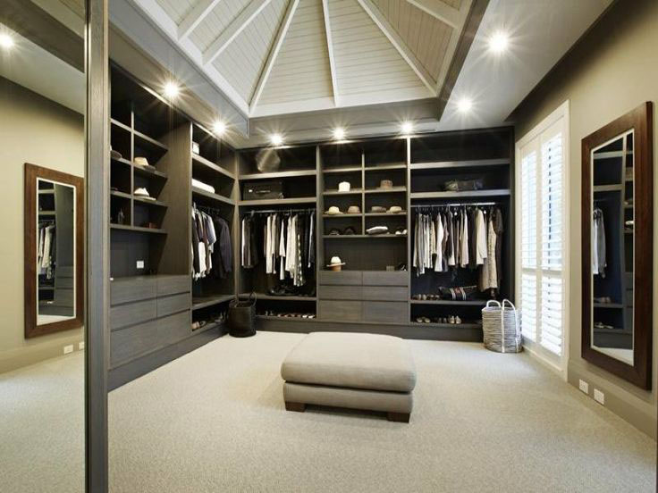 30 walk in closet ideas for men who love their image - Mens walk in closet ...