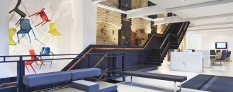 Impressive Furniture Showroom Occupying a 3-Storey Victorian Warehouse