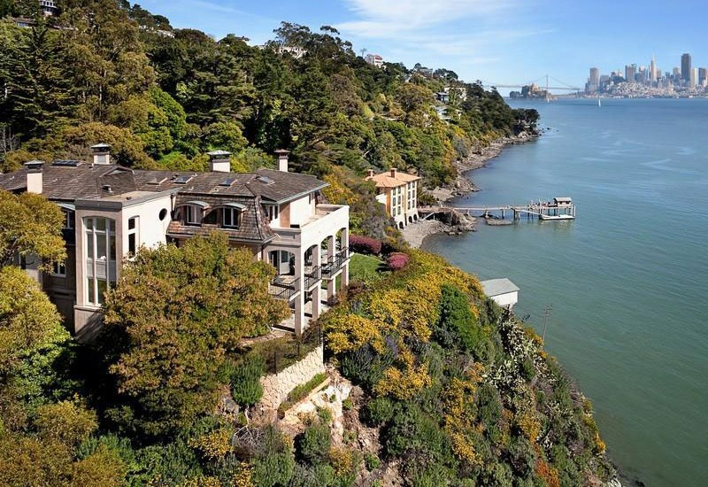 Collect This Idea Belvedere House. This Waterfront Luxury Home ...