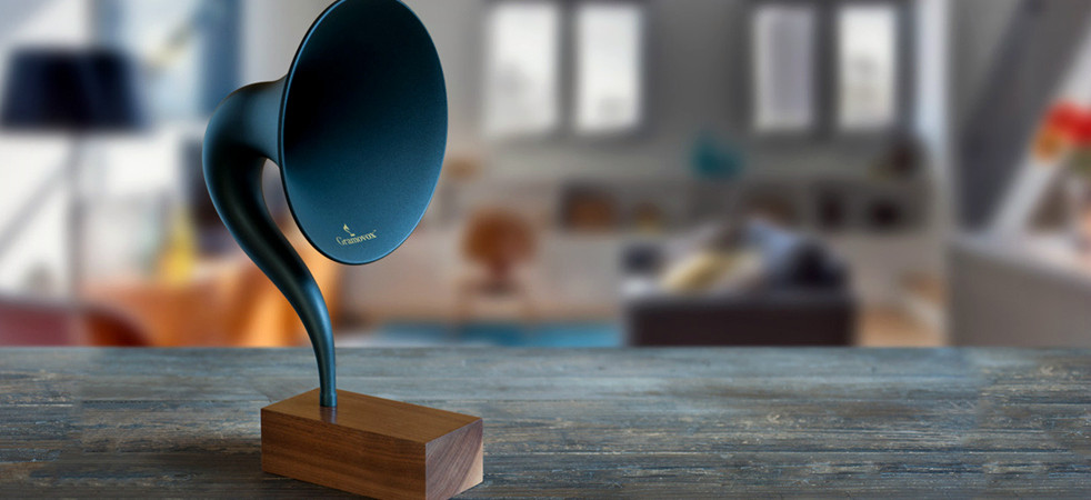 Seducing Vintage Sounds : World's First Bluetooth Gramophone [Video]