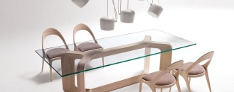 Sleek Furniture Pieces by Paco Camús: SHARON & DENISE
