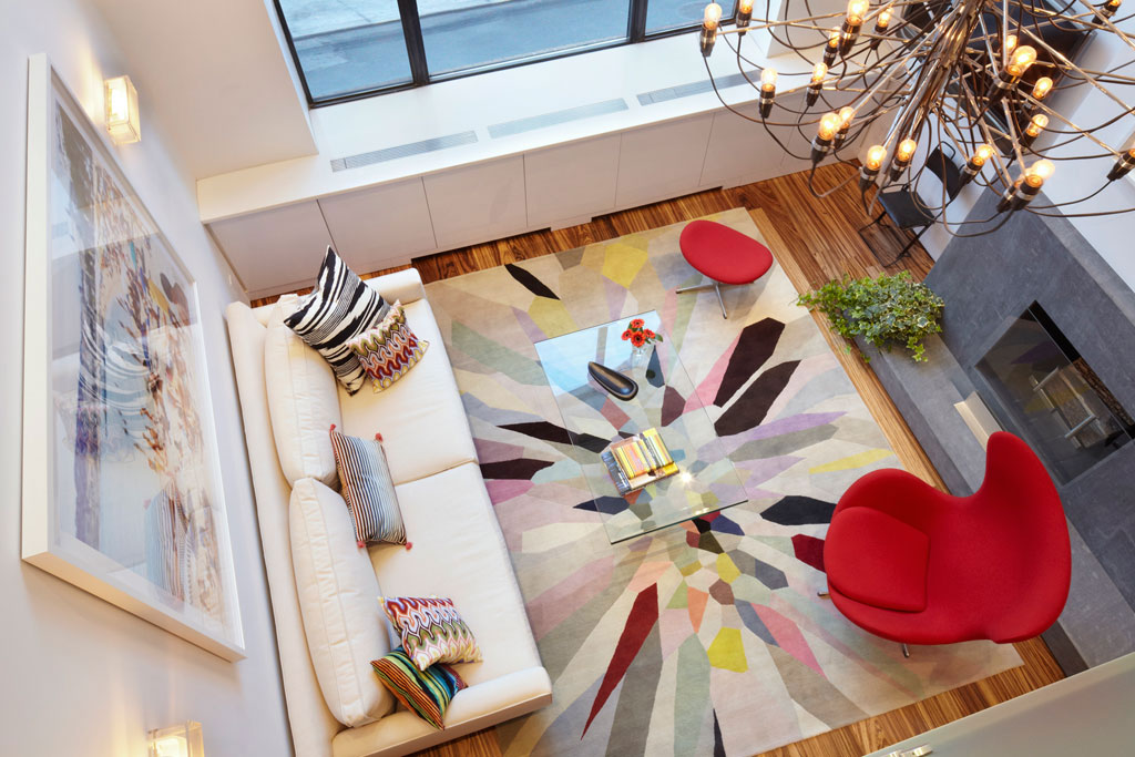 Colourful and Light-Filled Apartment in Manhattan by Axis Mundi Design