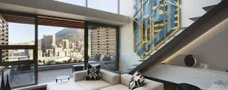 Striking Duplex in Cape Town Depicting Modern Africa by SAOTA