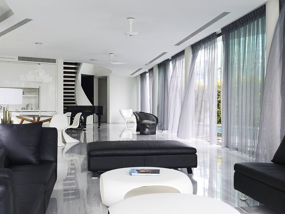 Luxury Mansion In Singapore With An Appealing