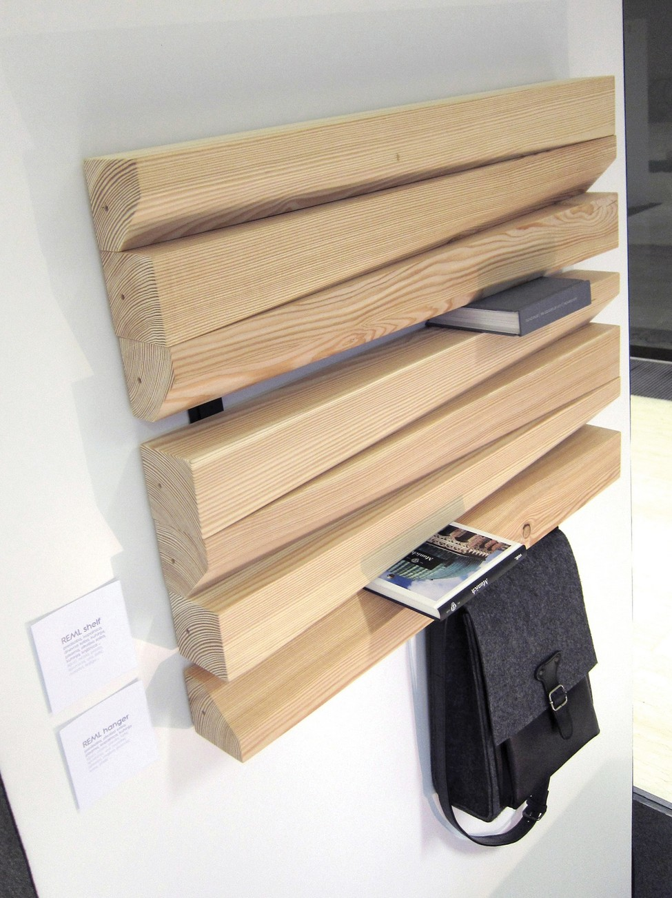 Elegant Shelving Unit With Surprising Functionality by TRIpike [Video]