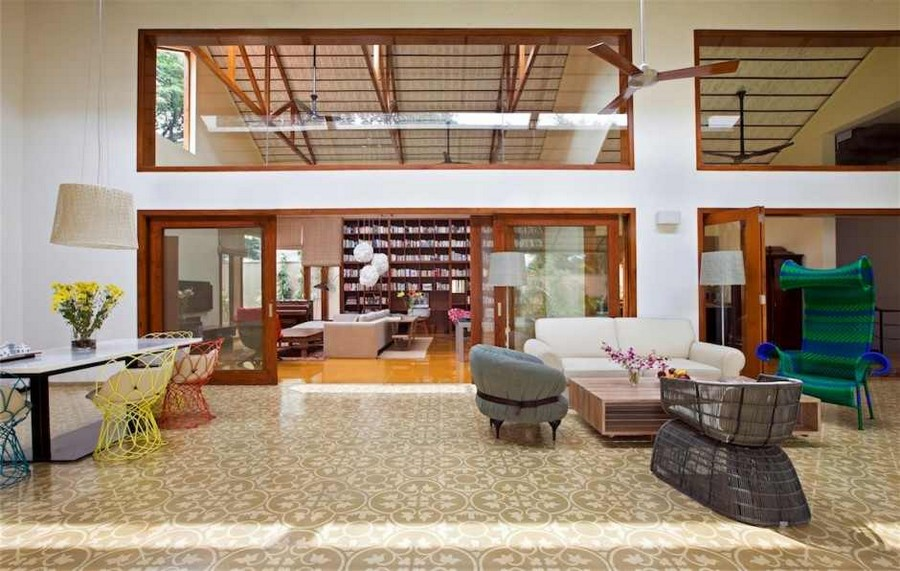 Imposing Library House In India Evoking Bangalore S Colonial Past
