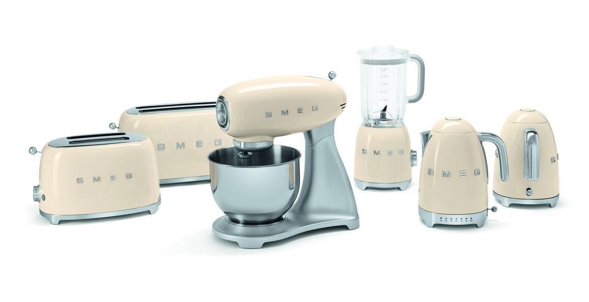 delightful Retro Kitchen Small Appliances #4: Collect this idea Smeg 50u0027s Retro Style small home appliances (1)