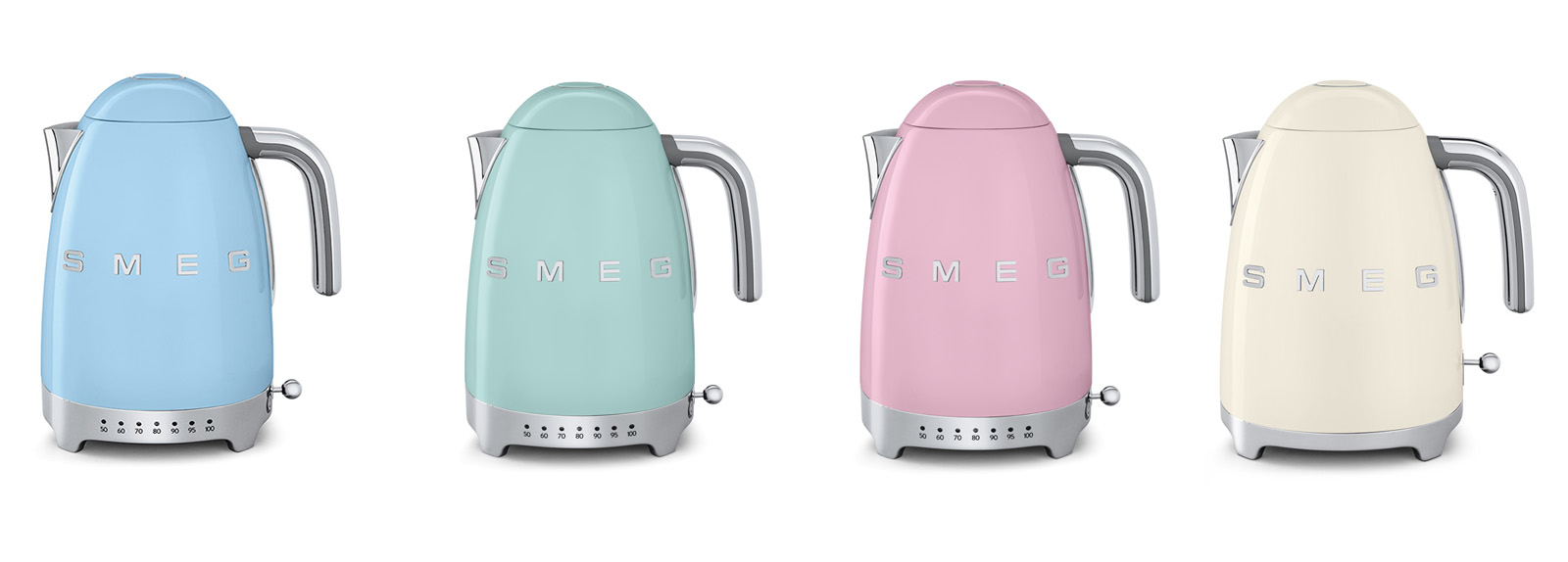 marvelous Retro Kitchen Small Appliances #5: Collect this idea Smeg 50u0027s Retro Style small home appliances (2)