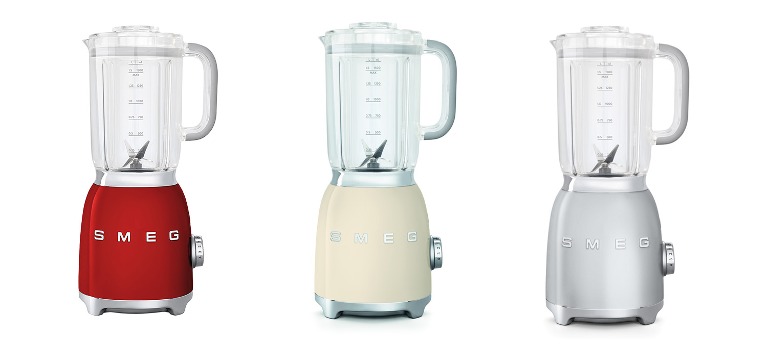 Meet The New Smeg 50's Retro Style Small Home Appliances