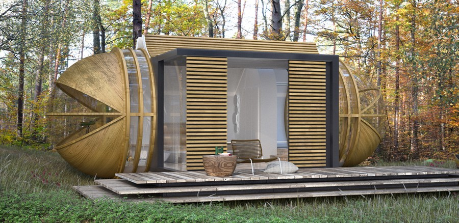 Eco-Tourism Merged With Sustainable Design: DROP XL by In-tenta [Video]