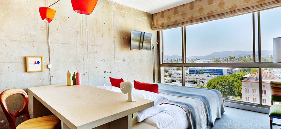 Refreshingly Raw Design: The Line Hotel in Koreatown, Los Angeles