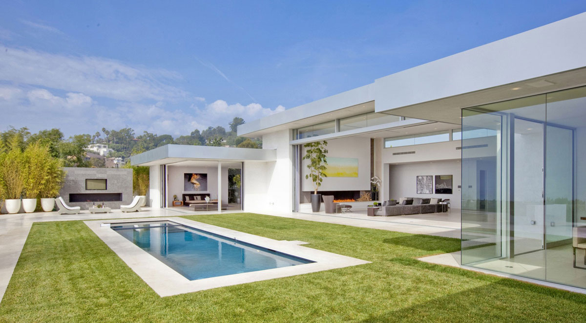 Stunning Beverly Hills House Designed by DJ Avicii's House Architects