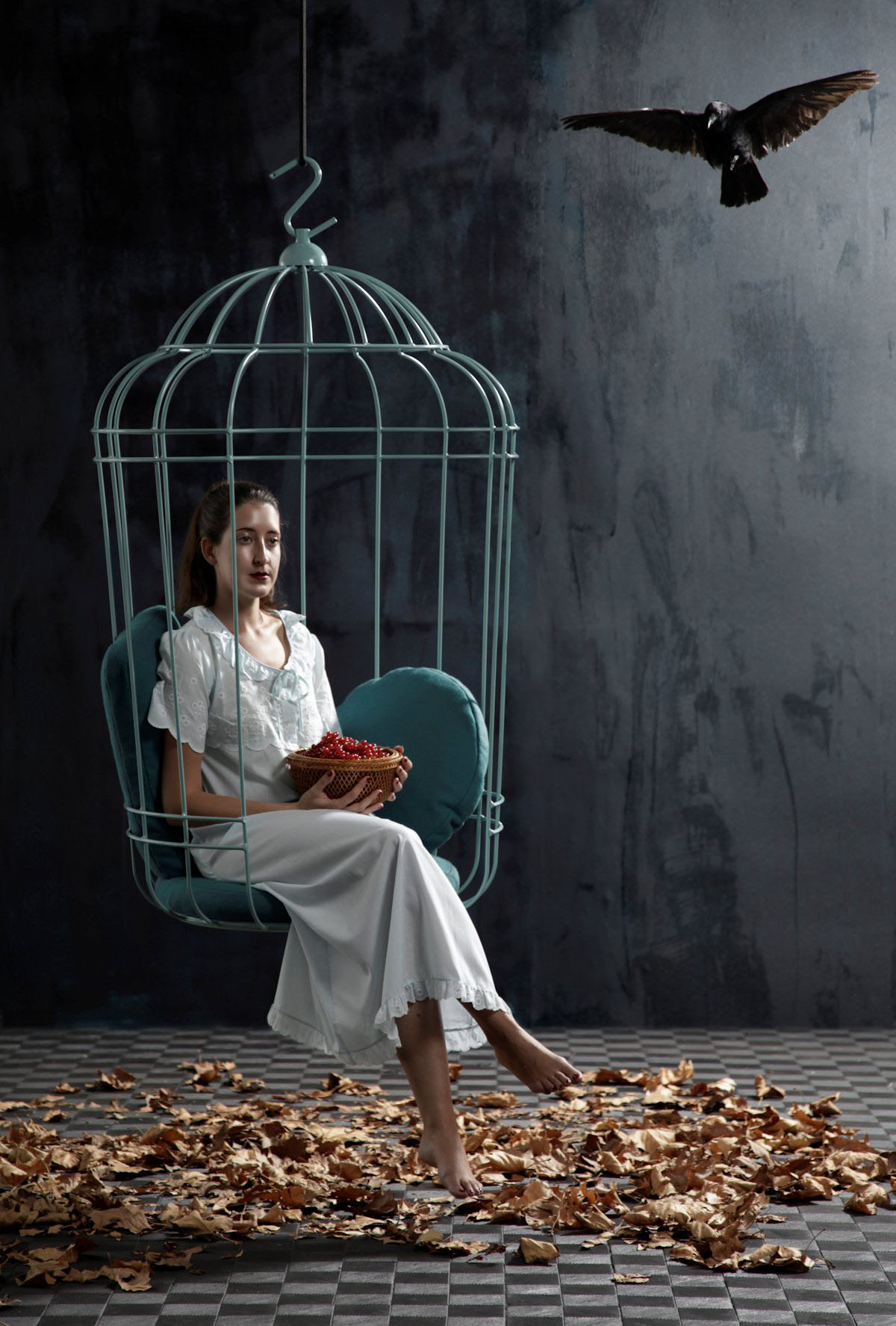 Hypnotizing Cage Chair Flaunting Dutch Design: Cageling