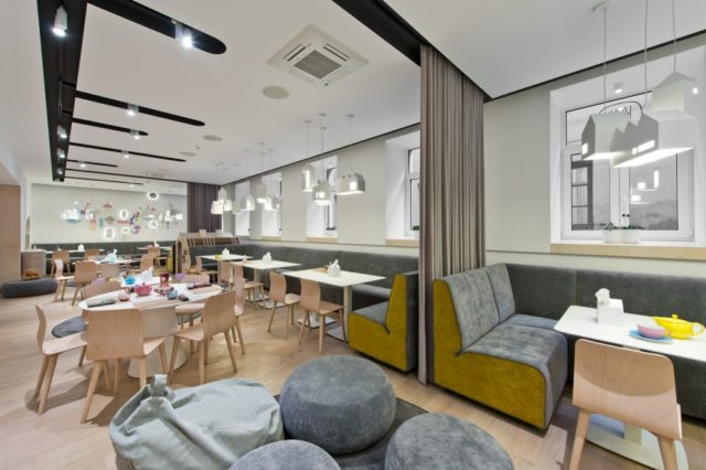 Playful Kukumuku Restaurant in Vilnius Specially Designed for Families with Kids