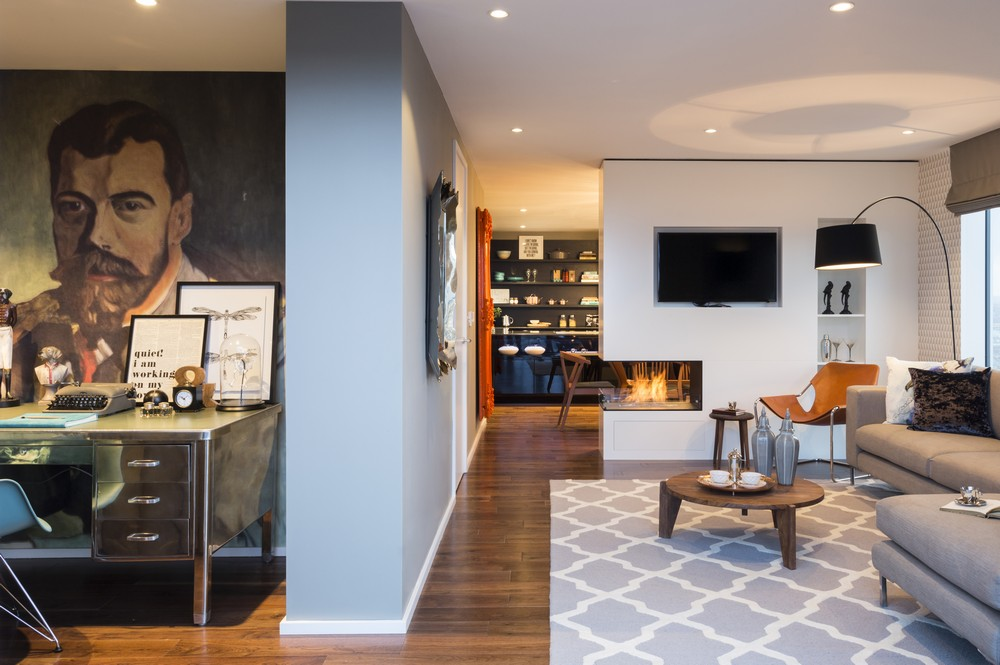 Striking Three Bedroom Duplex Exuding a Vivid Personality in ...