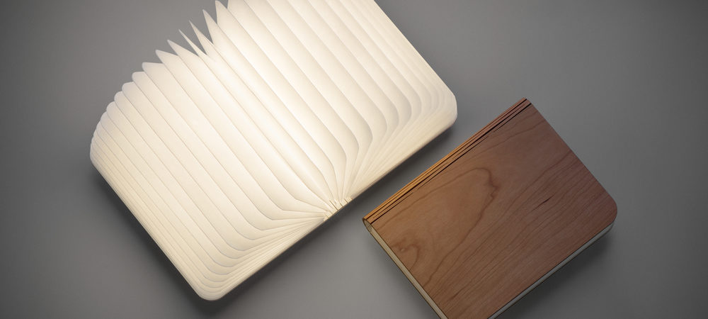 Portable Book-Shaped Lamp Brightening Your Favourite Moments: Lumio