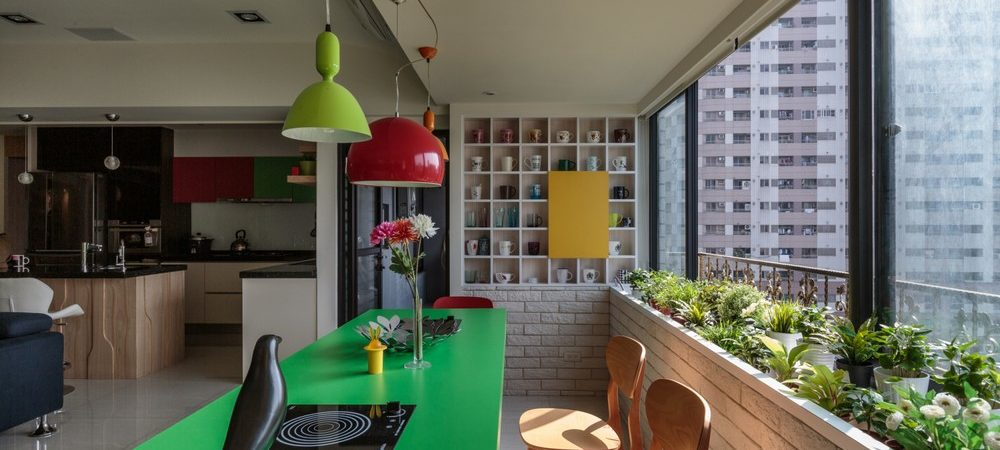 Colorful Family Home in Taiwan Inspiring Social Interaction