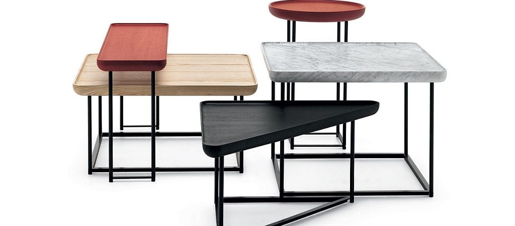 Defined by a High Level of Flexibility: Torei Side Tables by Luca Nichetto
