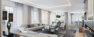 Visualizing a Sophisticated Penthouse Design in Stunning 3D Rendering