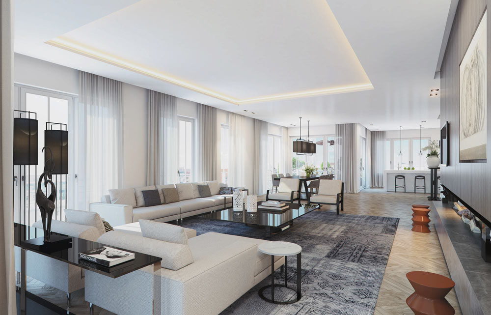 Visualizing a Sophisticated Penthouse Design in Stunning 3D ...