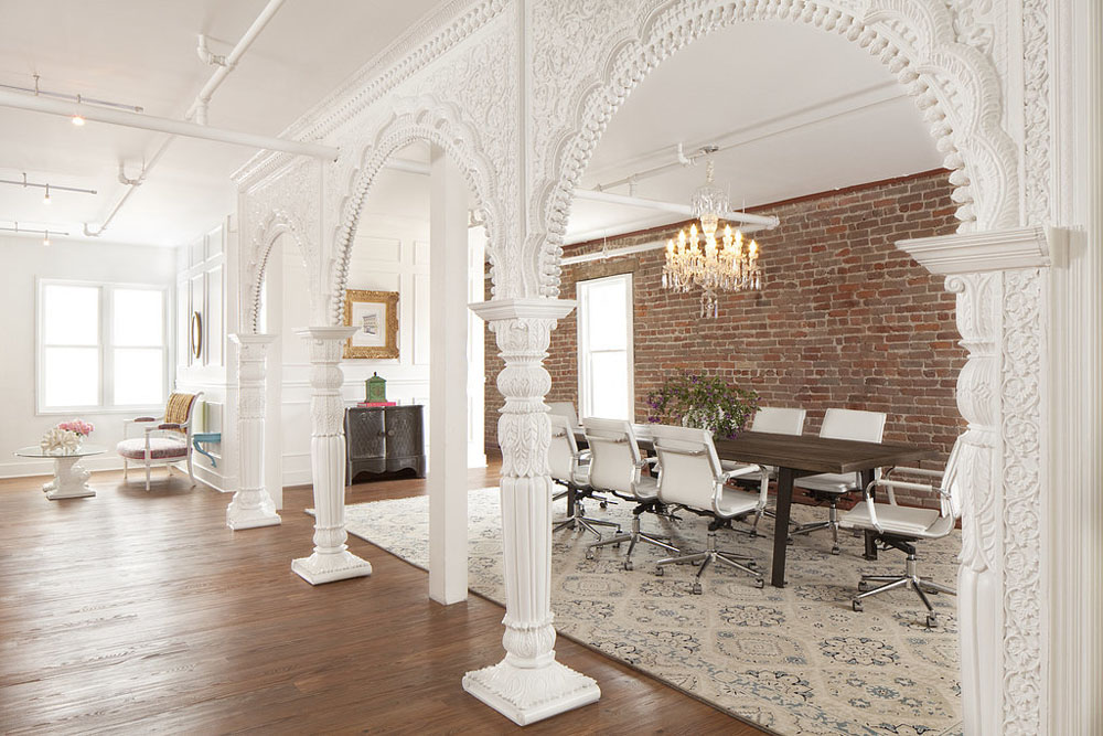 Fashionable San Francisco Office Design With Rich Feminine