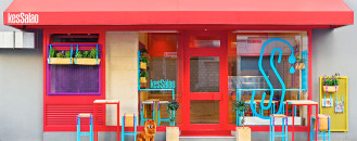 Fresh Design for Kessalao Mediterranean Take Away Restaurant in Bonn