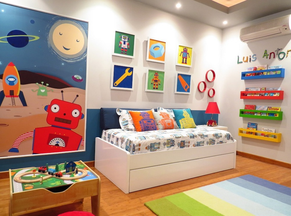 Amazing Kids Colorful Bedroom