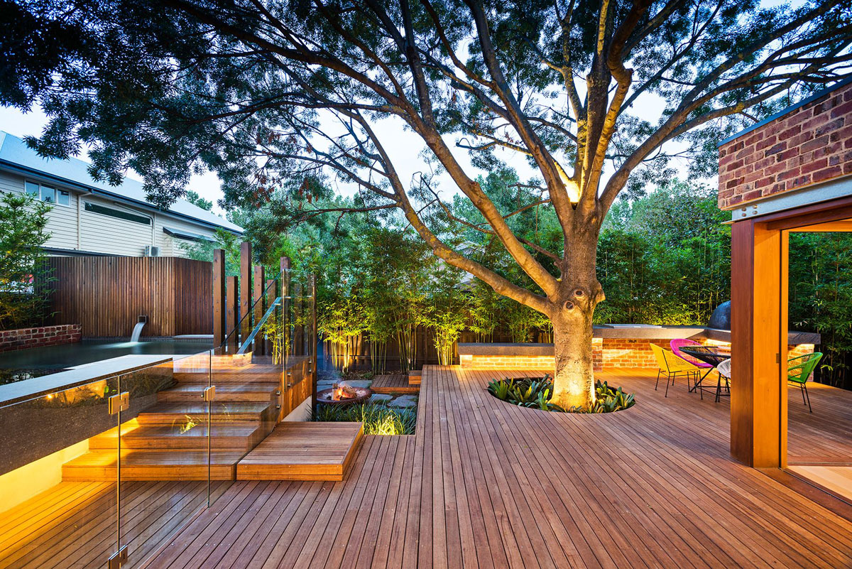 Collect this idea naroon modern backyard project by signature landscapes cos design and serenity pools